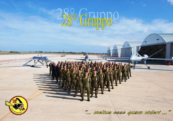 """28° gruppo """"Streghe"""" del 32° Stormo dell'Aeronautica Militare di Amendola"""