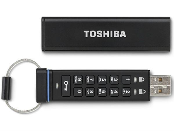 Toshiba Encrypted USB Flash