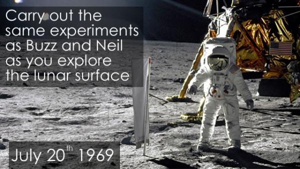Immersive VR app Apollo 11