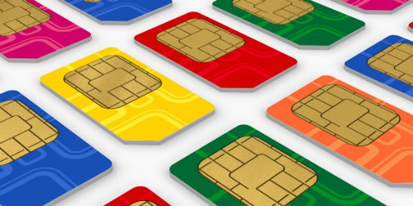 SIM card production