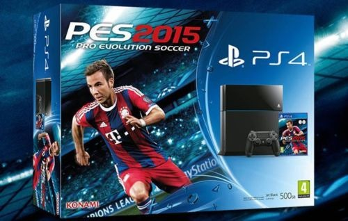 PS4 bundle PES 2015