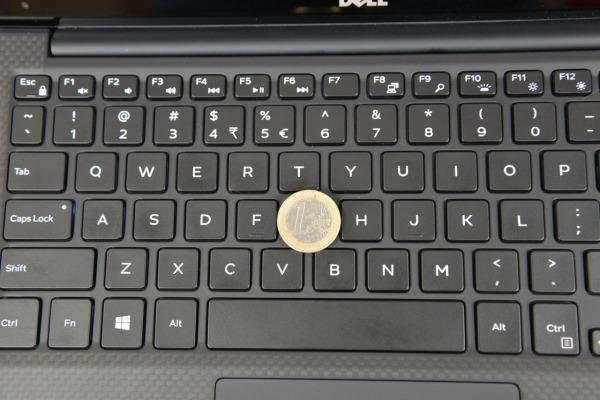 Dell XPS 13 tastiera
