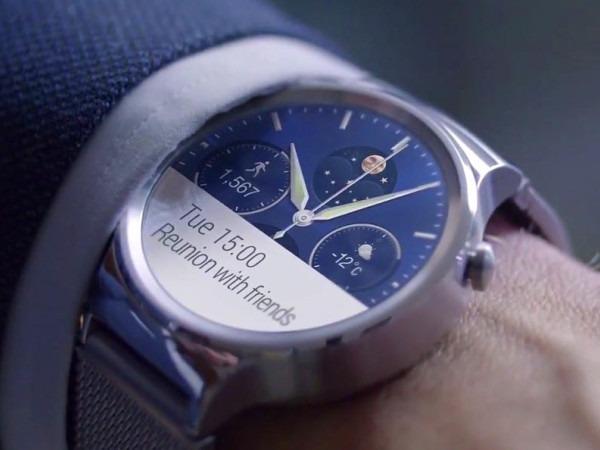 Huawei Watch sembra un vero orologio ma ha un cuore hi-tech