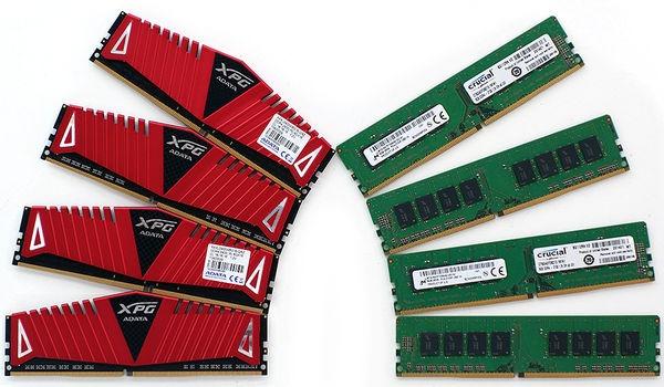 DDR4 Adata Crucial 32 GB