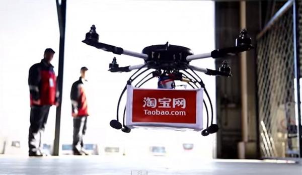 droni per consegne