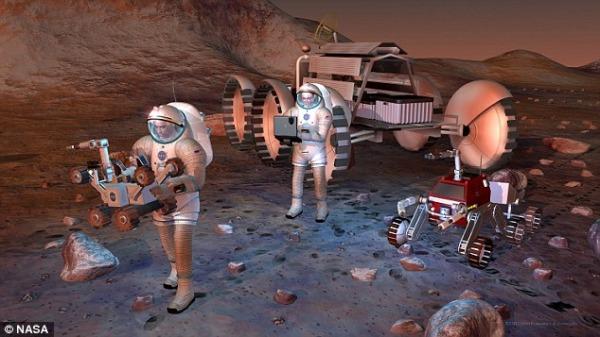 Astronauti Marte