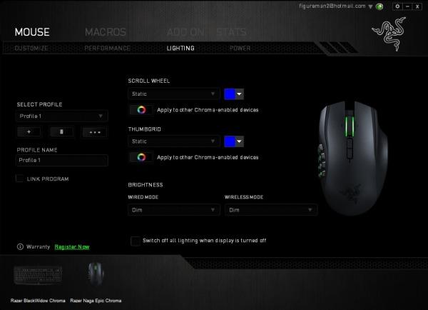 Razer Naga Epic Chroma Gaming Mouse