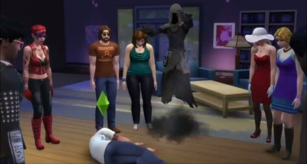 The Sims 4 Death