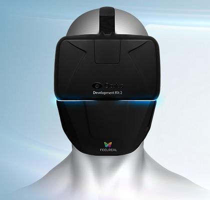 Feel Real Maschera Oculus Rift