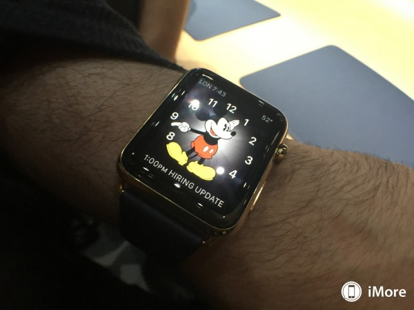 personalizzare home apple watch