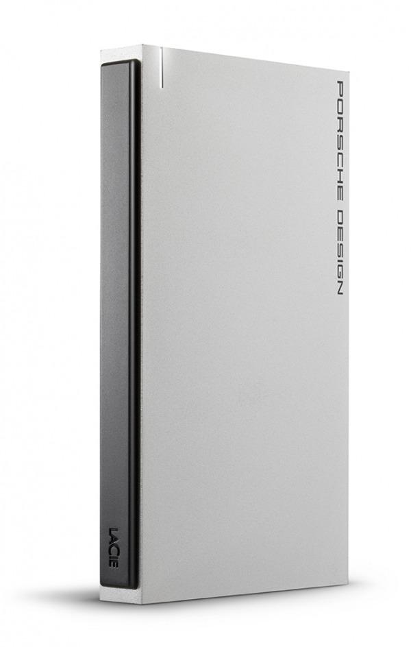 LaCie Porsche Design USB-C in verticale