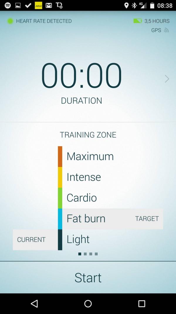 Jabra Sport Life training