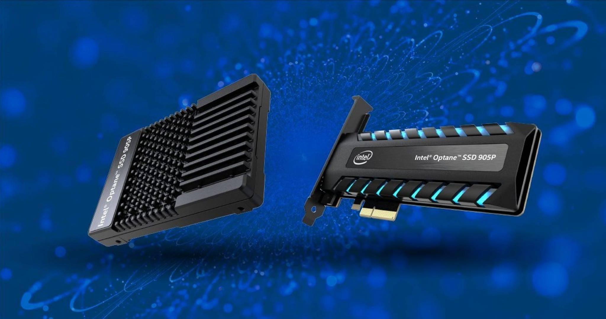 Intel Optane SSD 905P Copertina