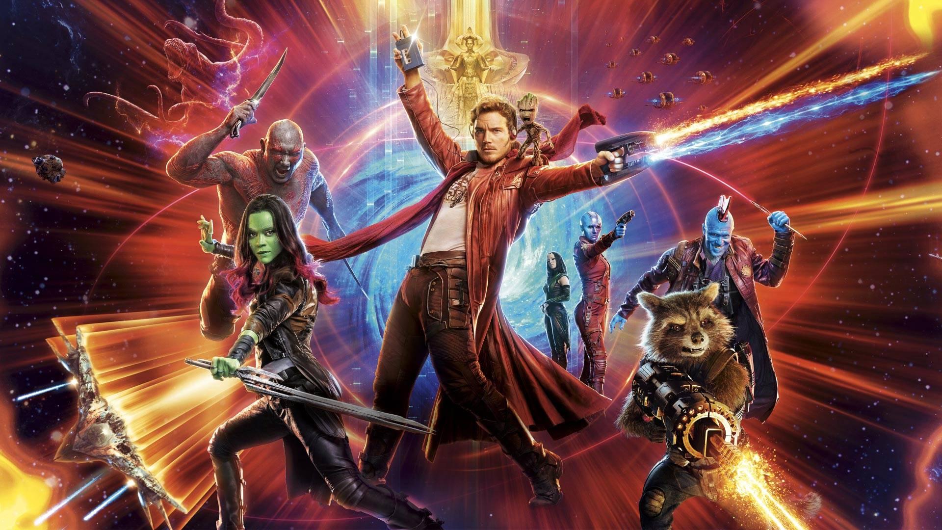 Guardiani della Galassia copertina