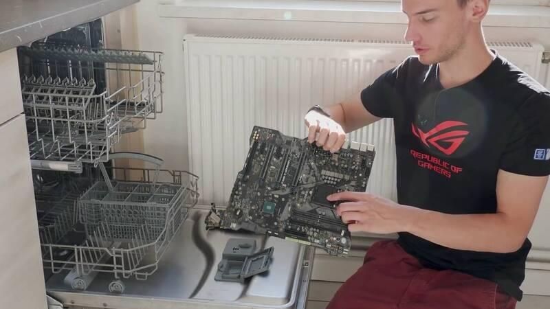 Pulire il PC con la lavastoviglie? Si può (ma non fatelo)! - Toms Hardware