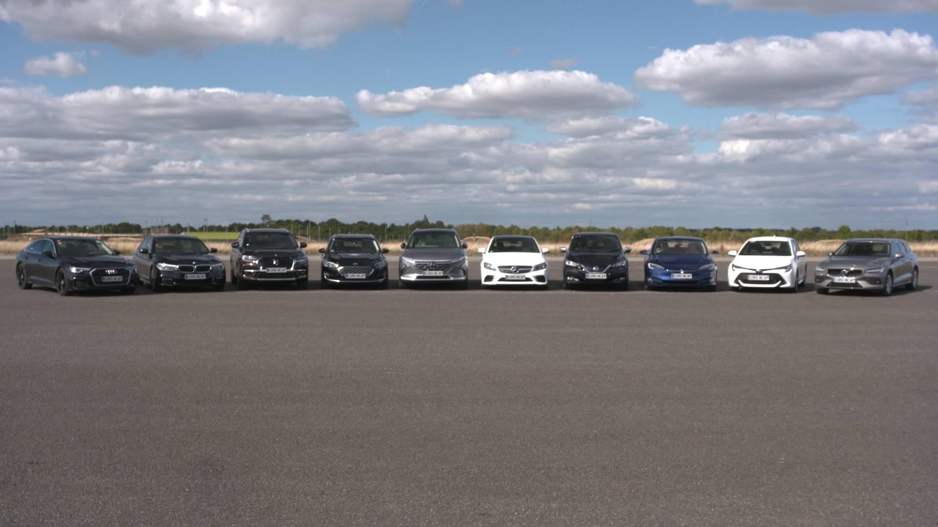 Euro NCAP Test Guida Autonoma