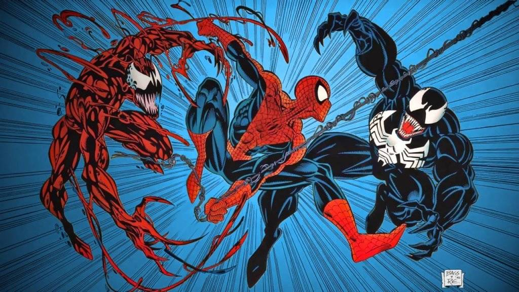 Carnage Spiderman Venom
