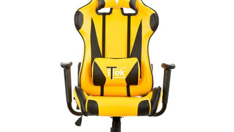 iTek Gaming Chair Taurus P2, sedia gaming economica alla ...
