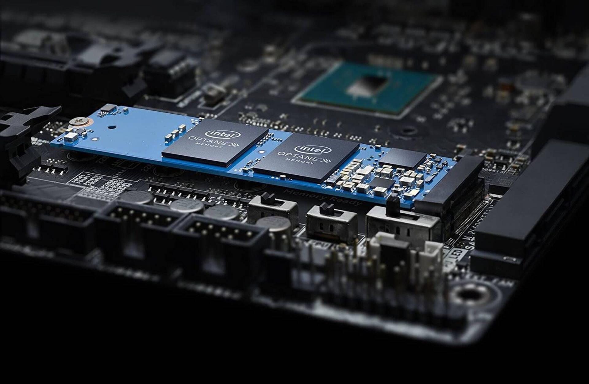 Optane Memory 3D XPoint