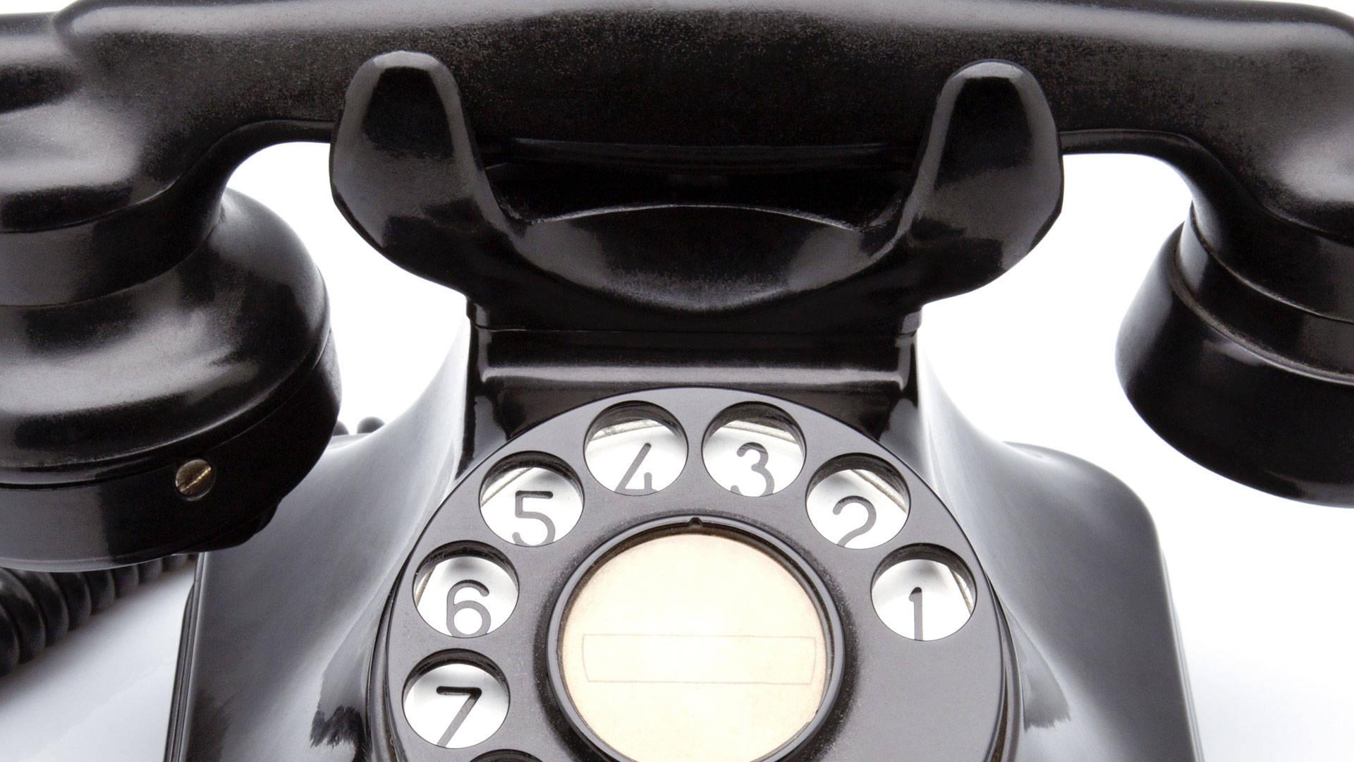 Vecchio telefono COVER