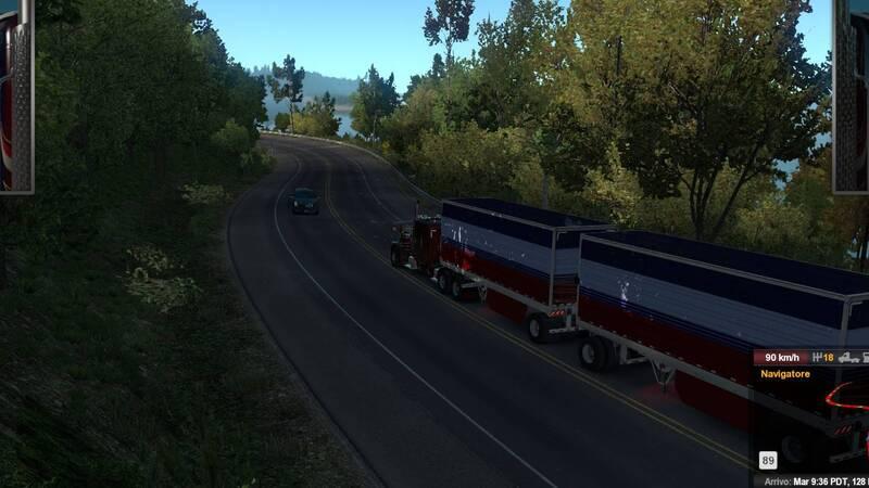 American Truck Simulator - Oregon Recensione, andiamo sempre