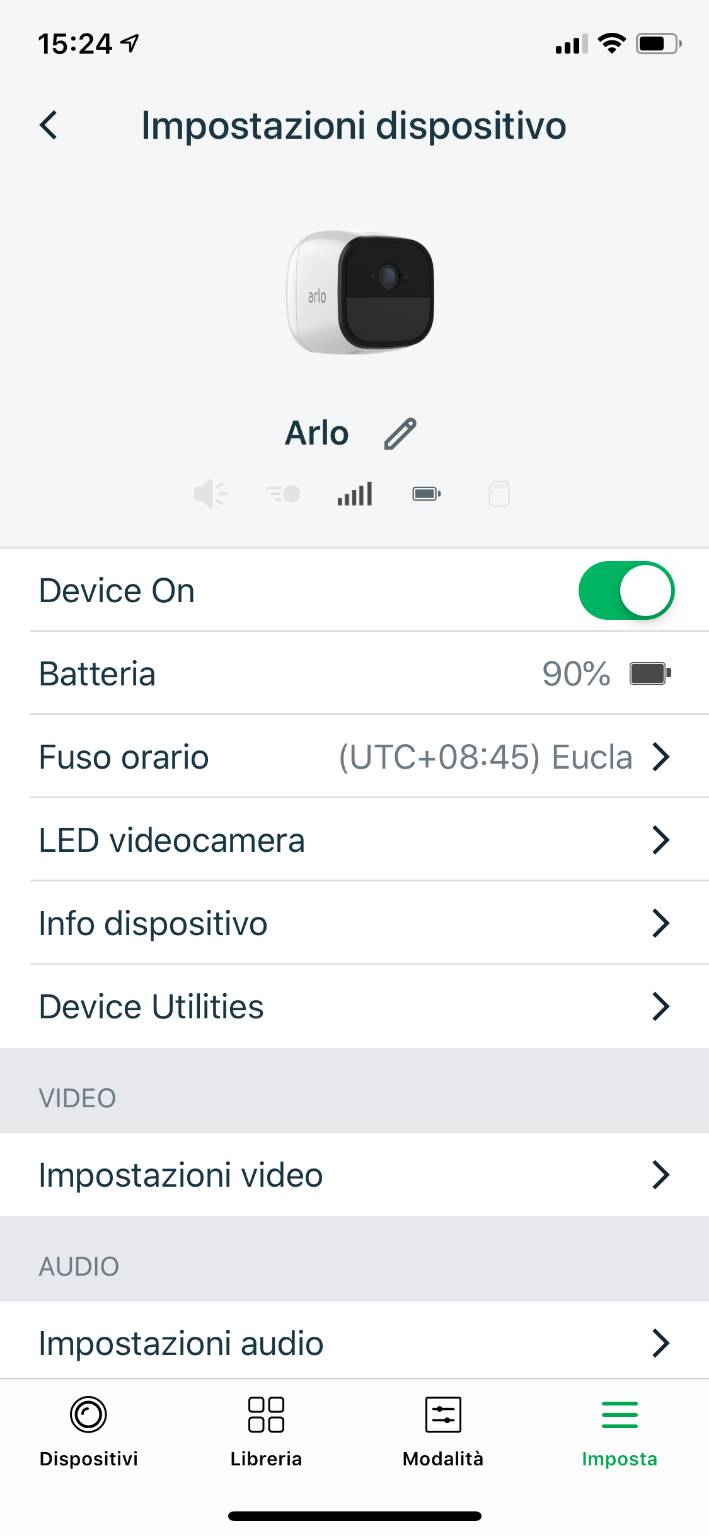 Arlo Go Software