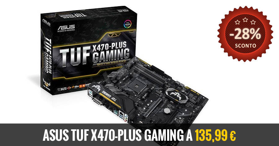 Asus TUF X470-Plus Gaming Deal