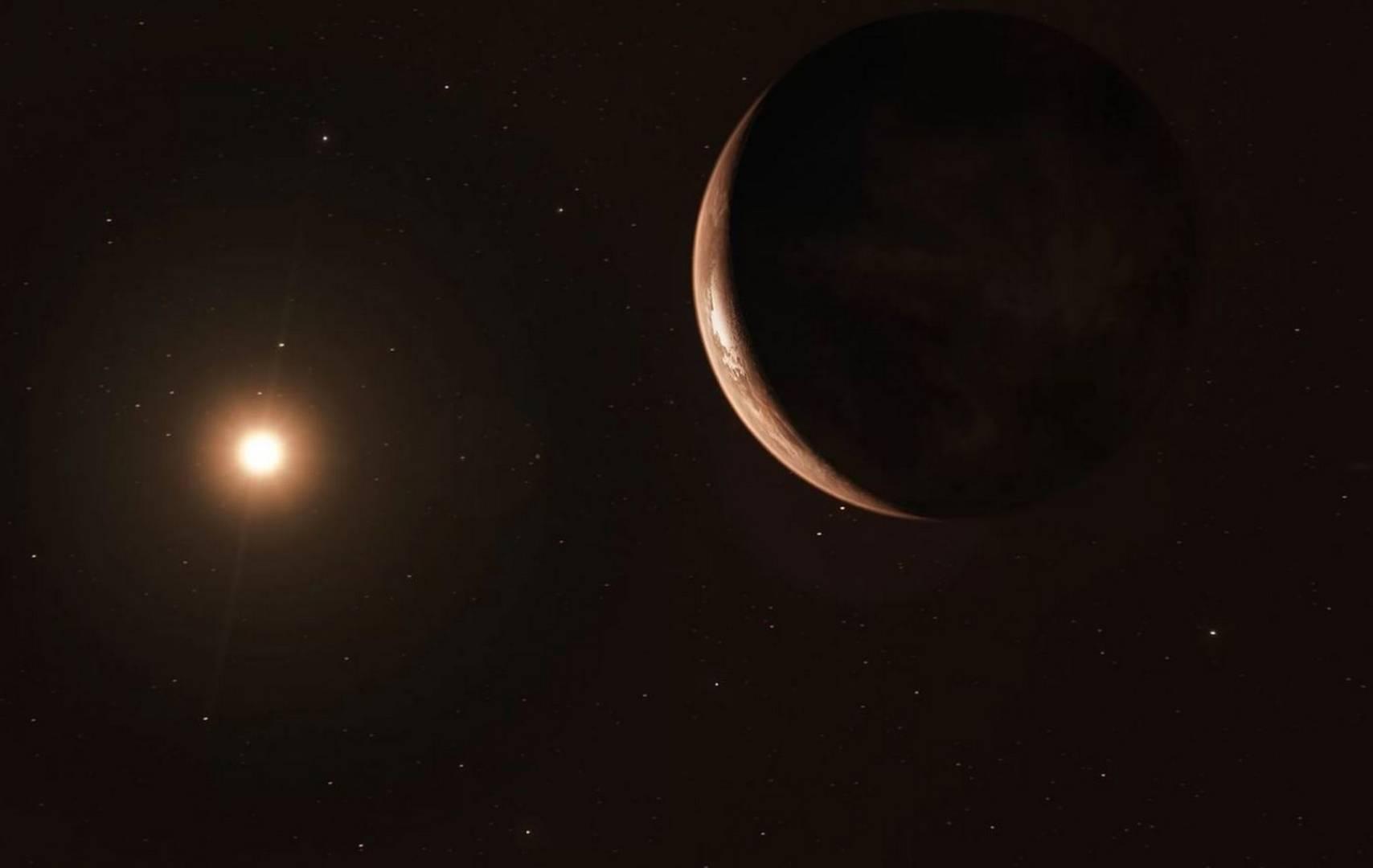 Esopianeta attorno alla stella di Barnard