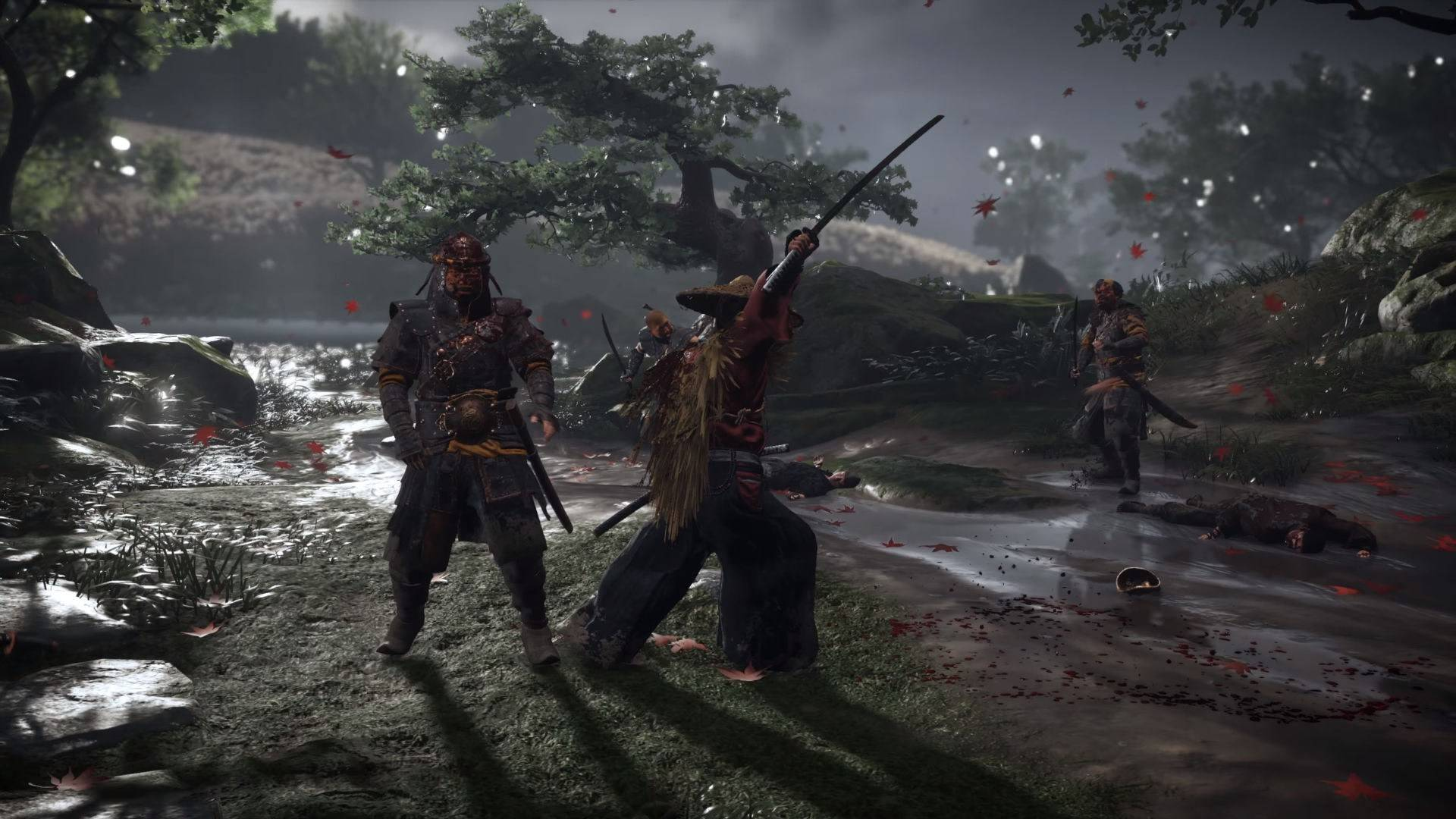 Ghost of Tsushima samurai