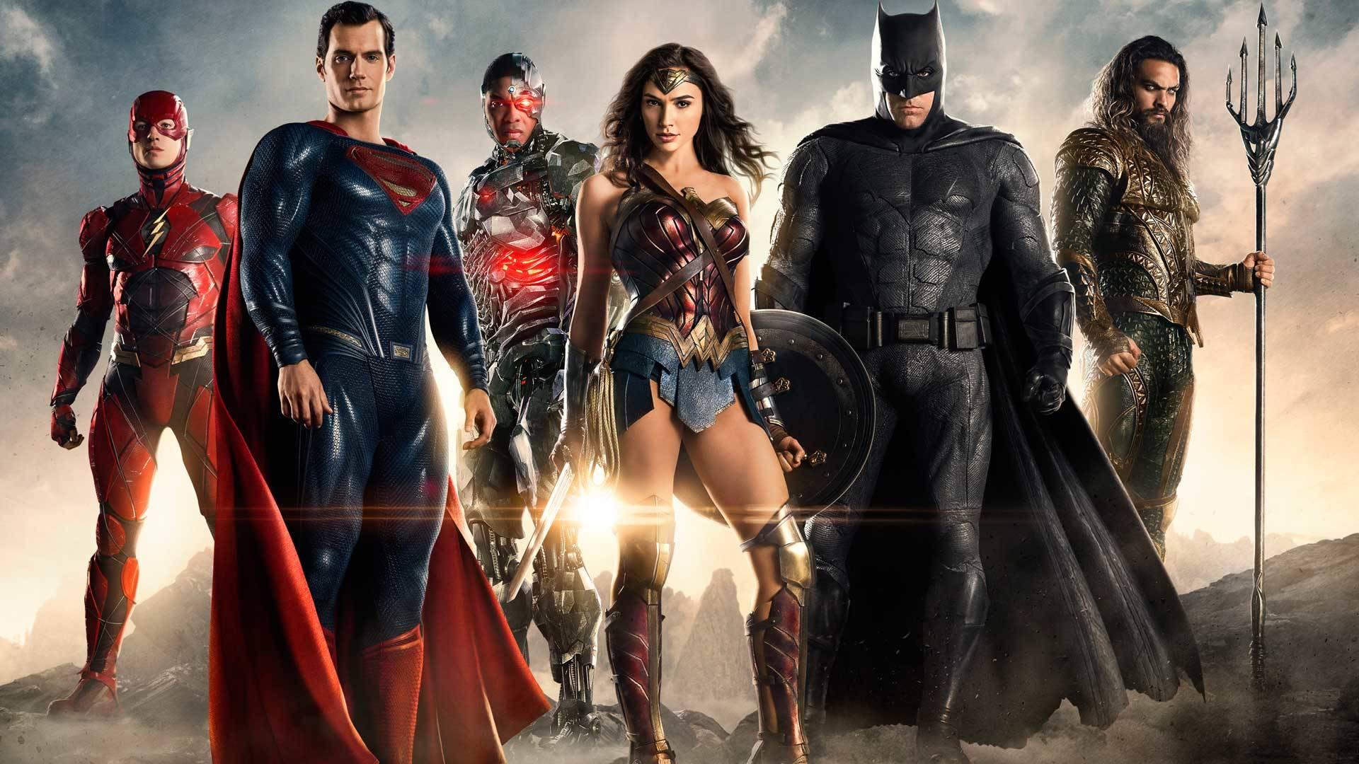 Justice League copertina