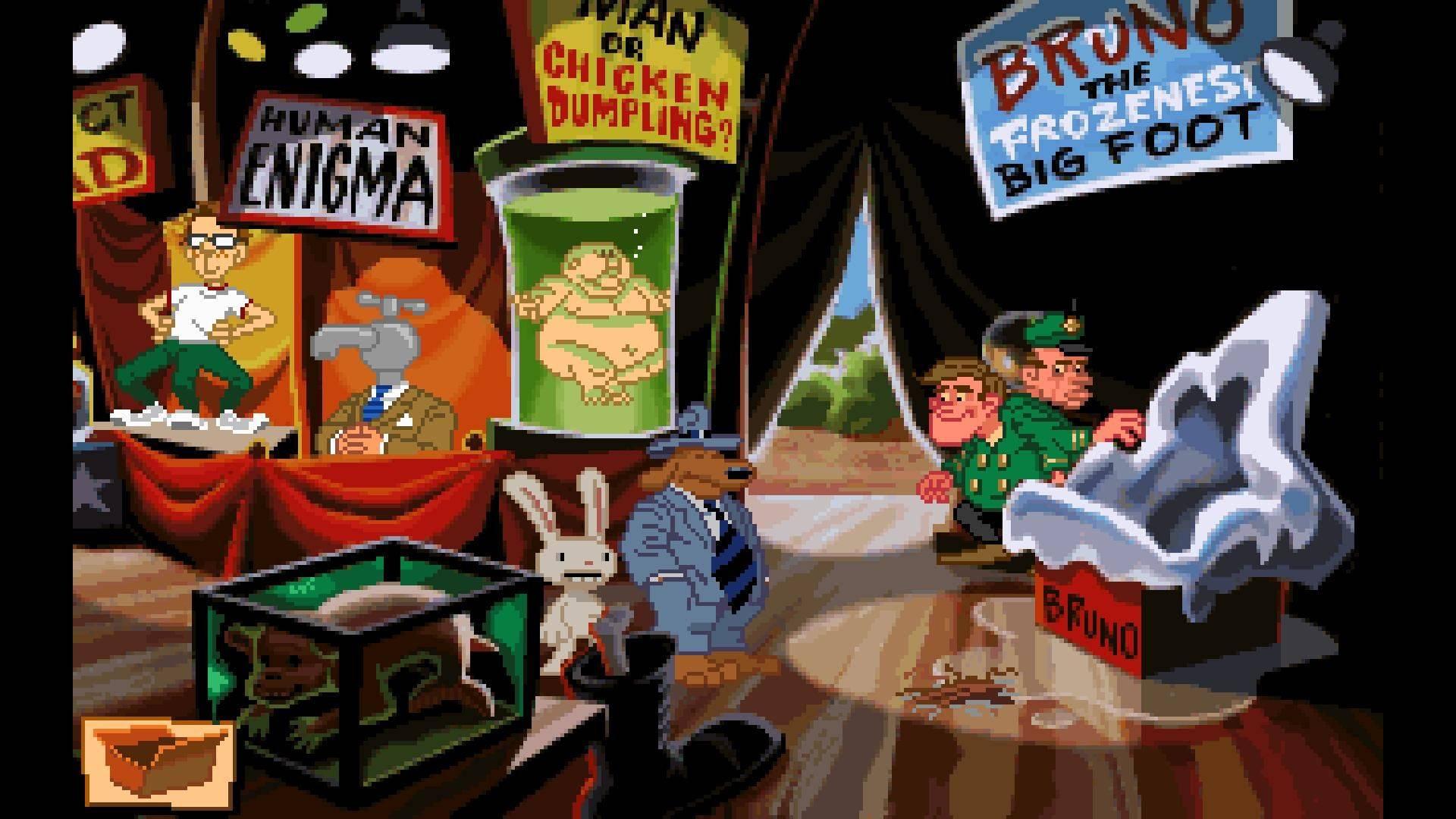 LucasArts Videogames Sam & Max