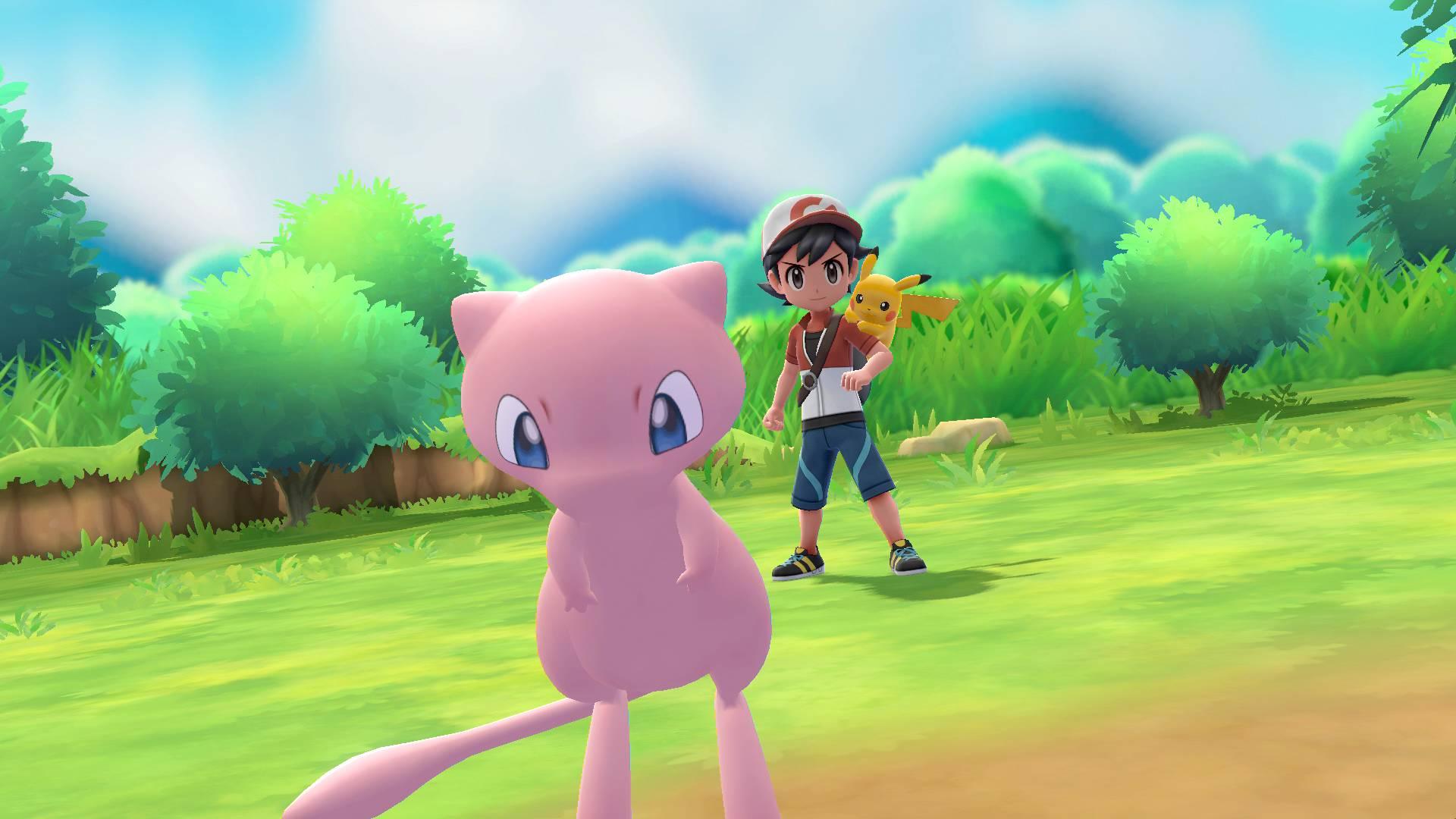 Pokémon: Let's Go Mew