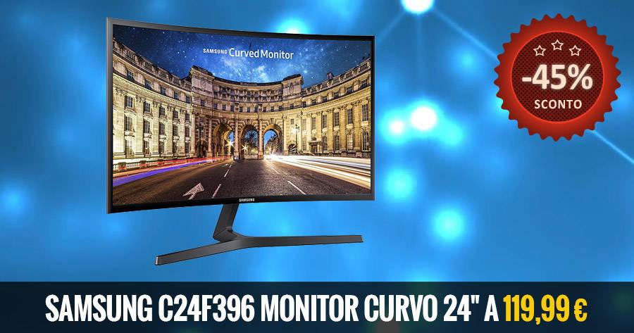 Samsung C24F396 bf deal
