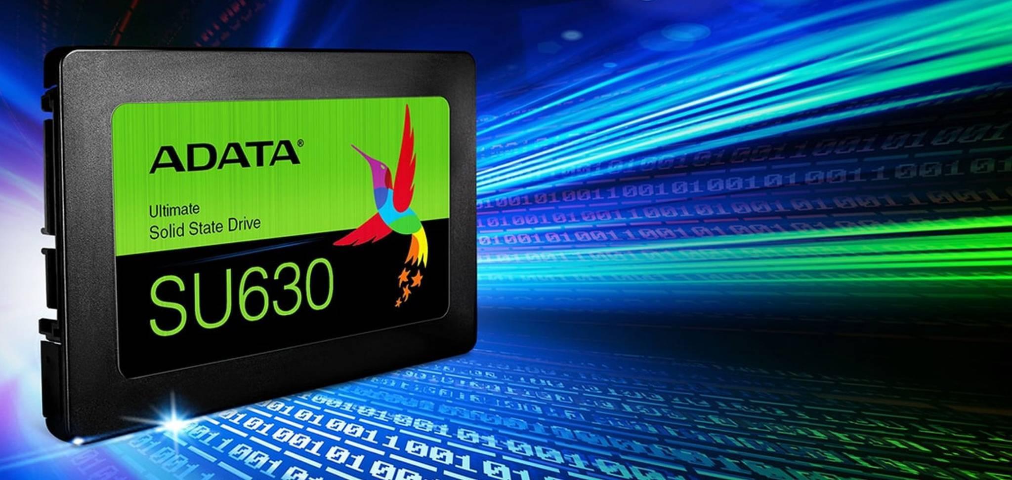 SSD ADATA Ultimate SU630 Copertina