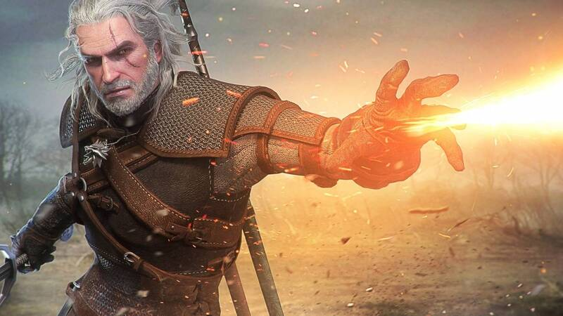 The Witcher: a fan triumphs at the Olympics