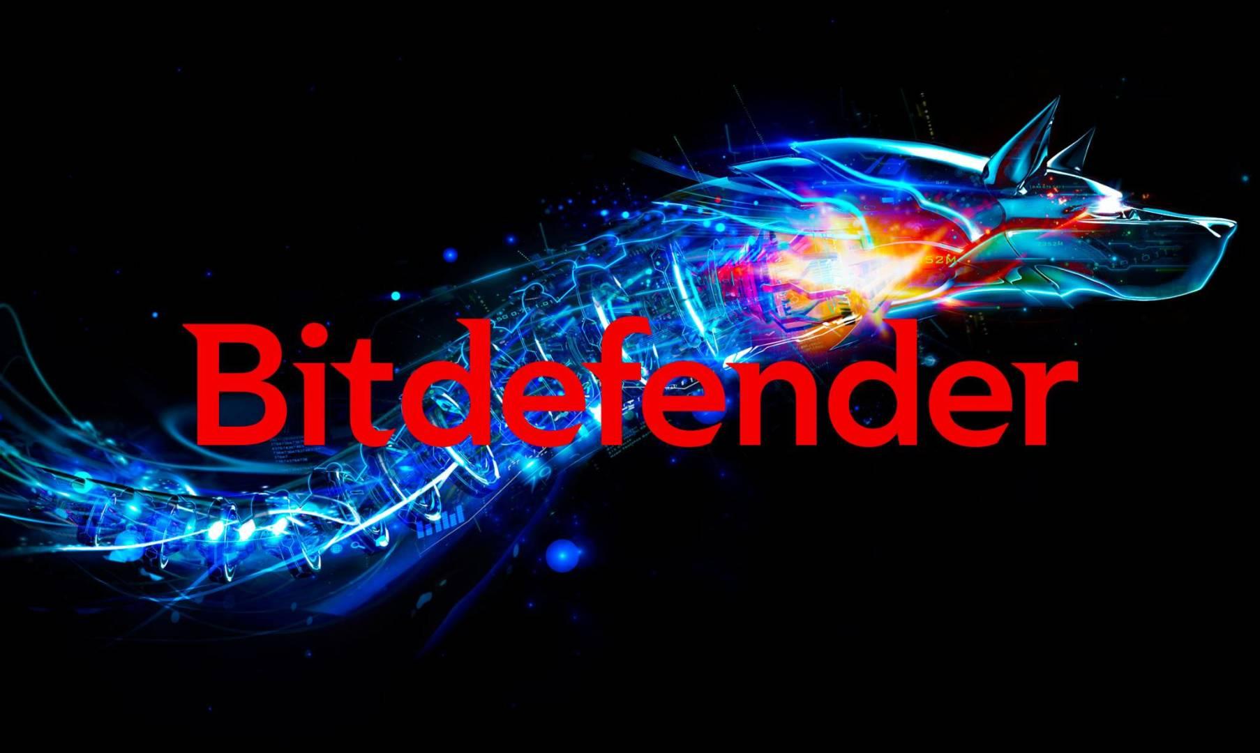 Bitdefender logo Copertina