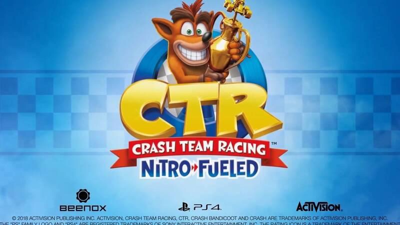 Crash Team Racing Nitro-Fueled annunciato ai The Game Awards 2018