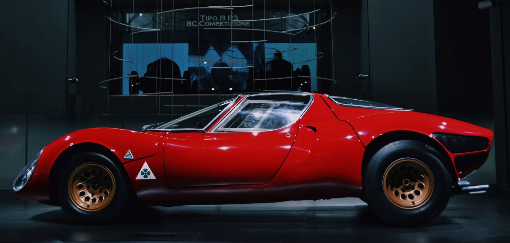 Museo Alfa Romeo - La Macchina Del Tempo