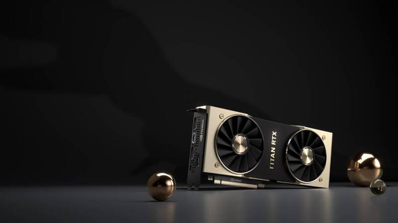 Nvidia Titan RTX ufficiale, GPU Turing al top per ricercatori e creatori di  contenuti