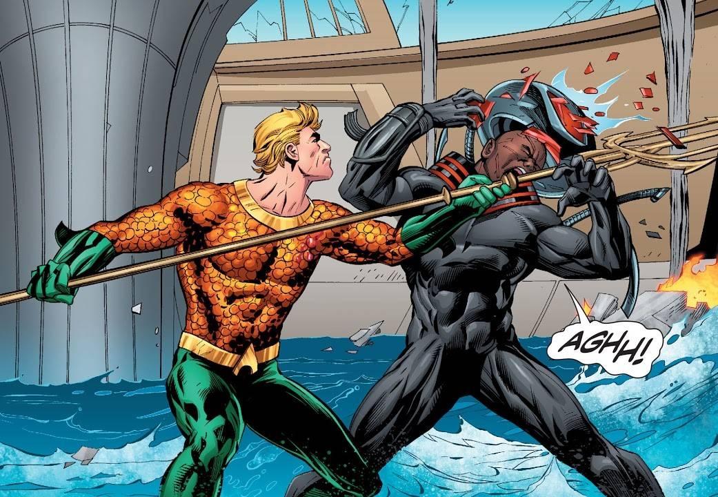 Aquaman Annegamento