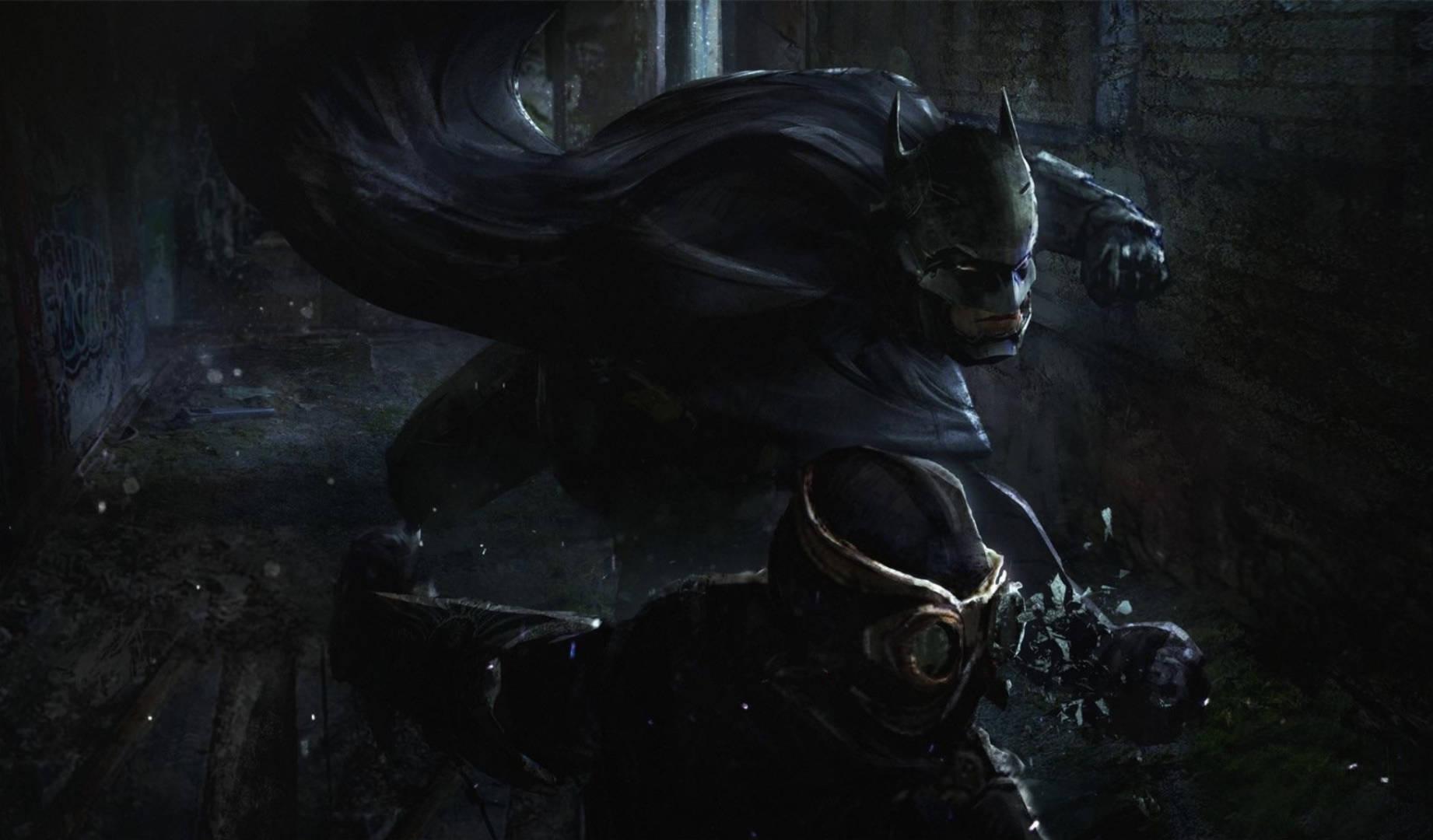 Batman La corte dei gufi artwork Eddie Mendoza