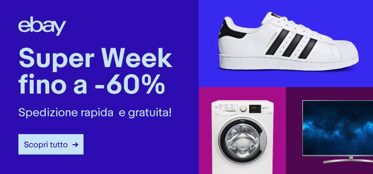 eBay Super Week 31 gennaio
