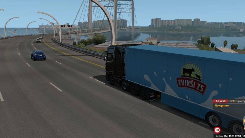 Euro Truck Simulator 2 - Beyond the Baltic Sea Recensione
