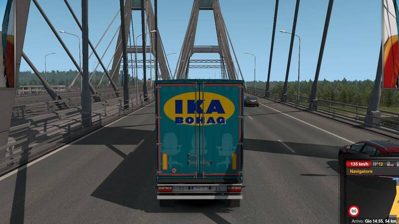 Euro Truck Simulator 2 - Beyond the Baltic Sea Recensione