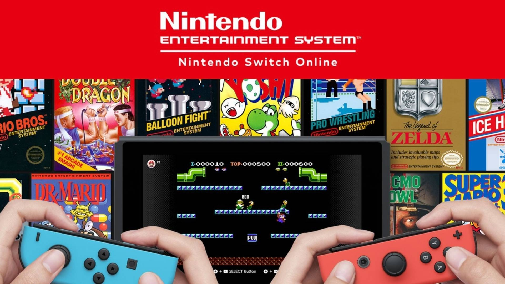 Nintendo Switch NES Online