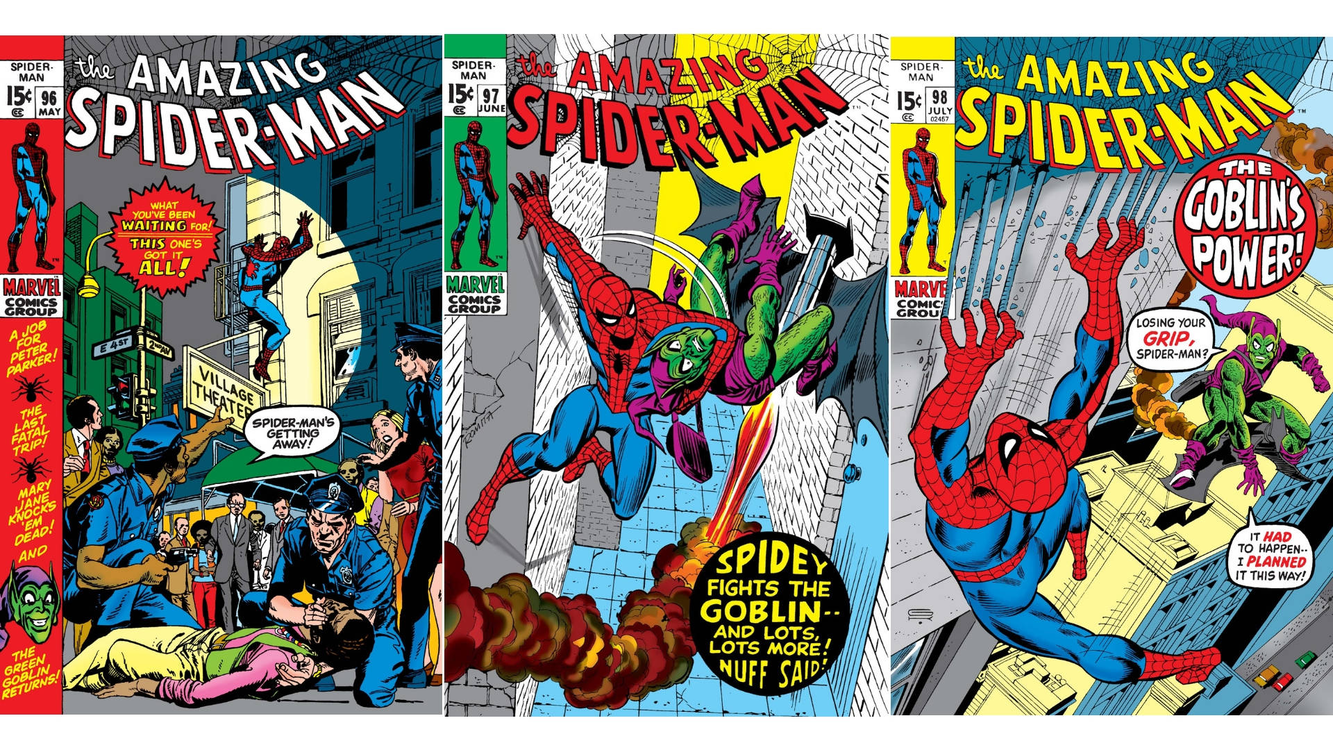 Spiderman trilogia green goblin