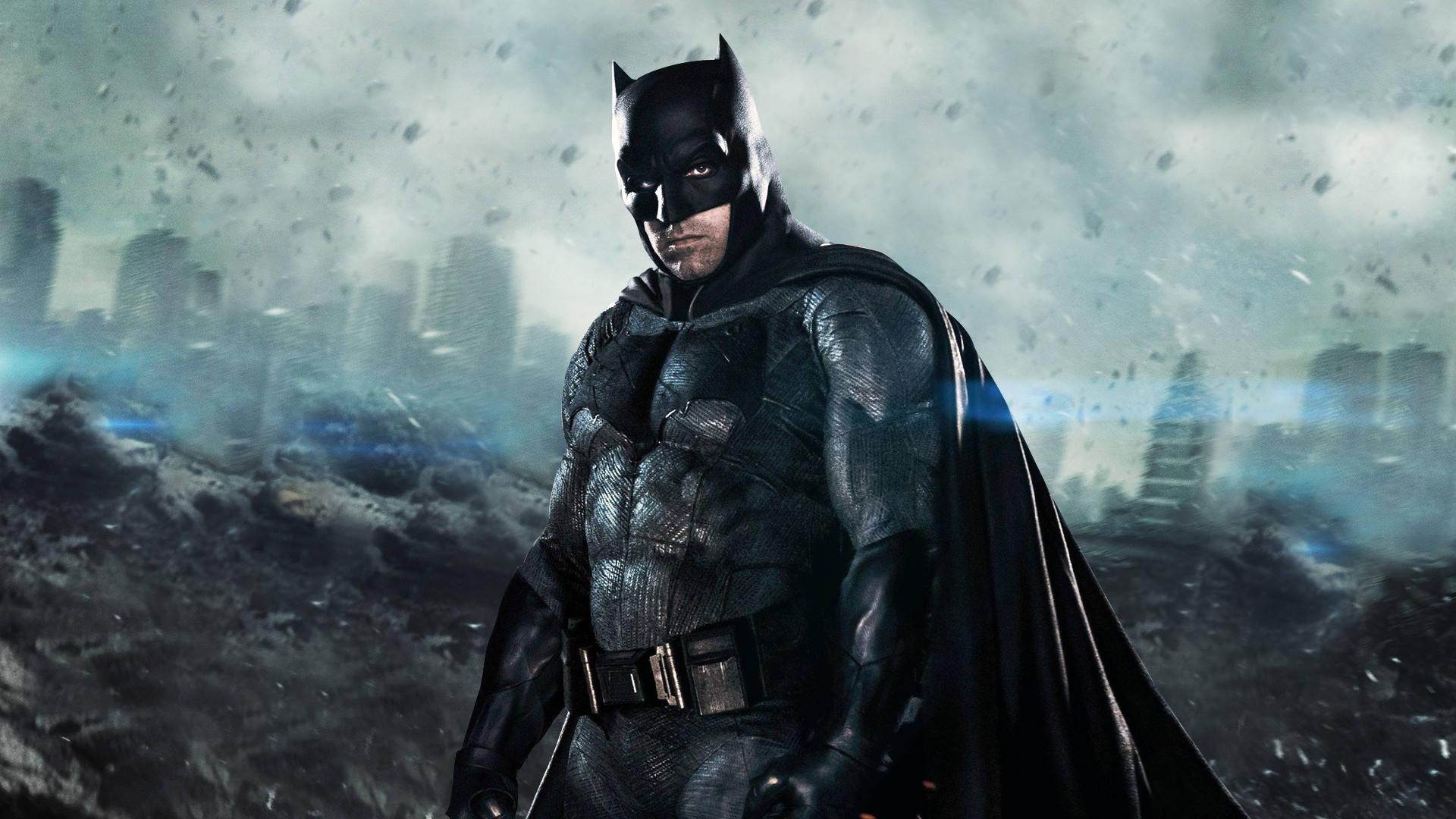 Batman Affleck copertina