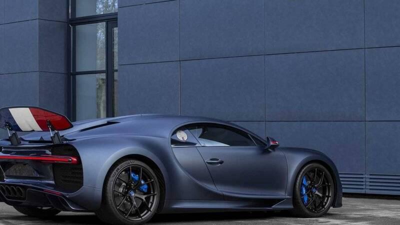 """Bugatti celebra i 110 anni con la Chiron Sport""""110 Ans Bugatti"""""""