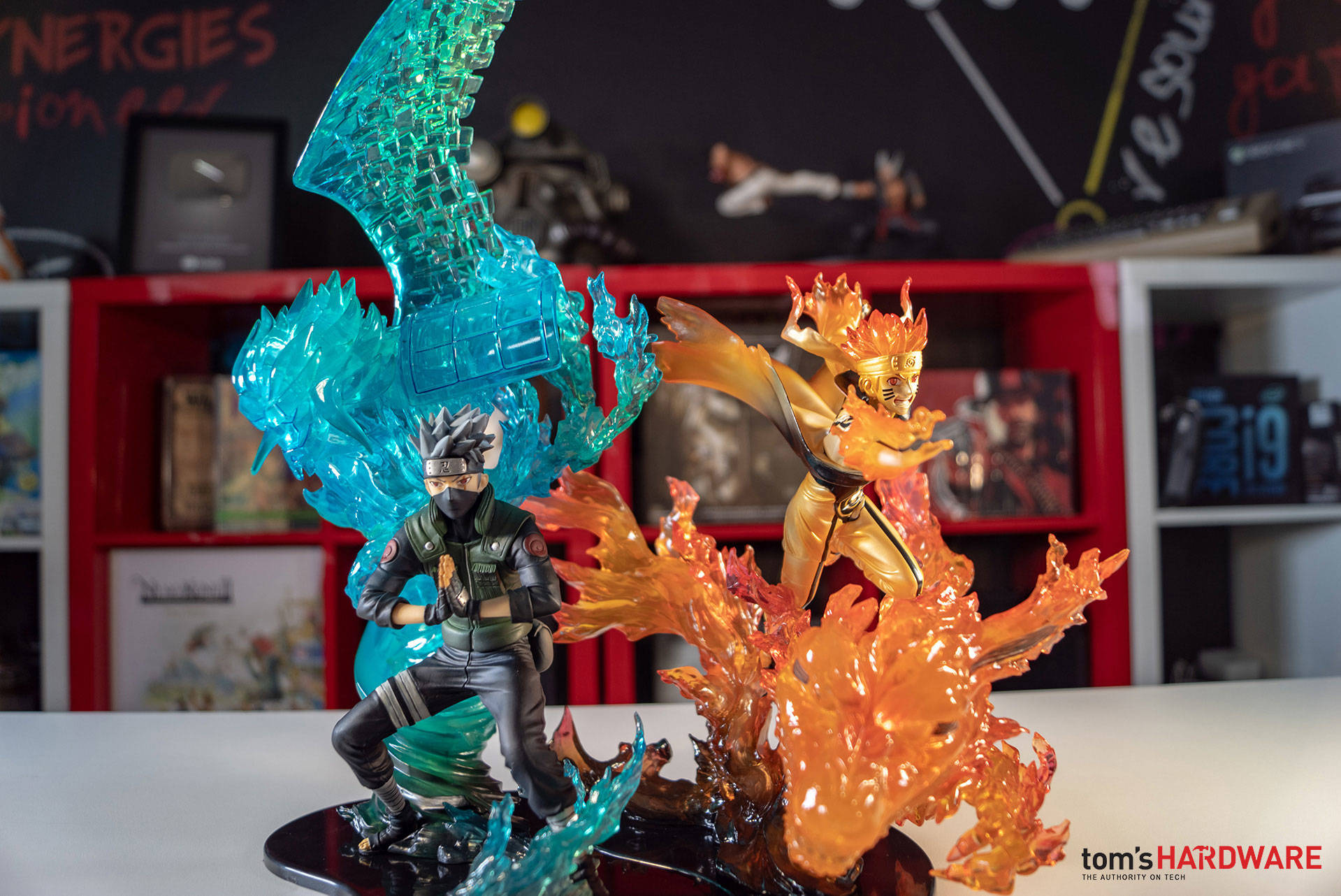 Figure Naruto e Kakashi Relation Bandai