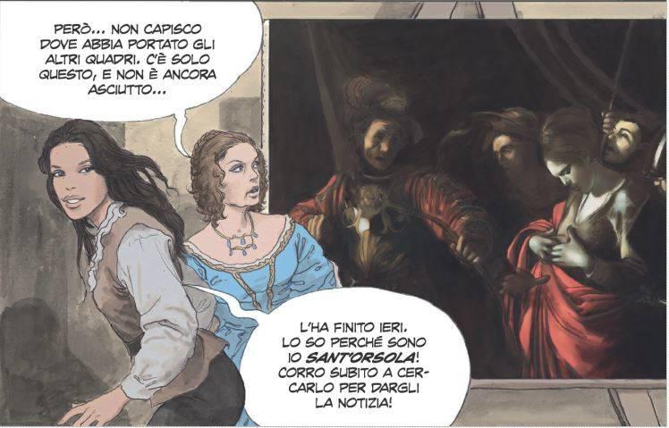 Manara_Caravaggio_Panini